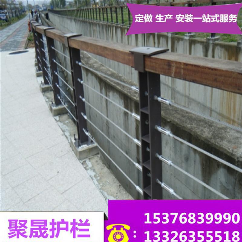 宝鸡304桥梁河道护栏上门安装